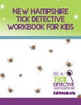 Tick Free NH Tick Detective Kids Workbook